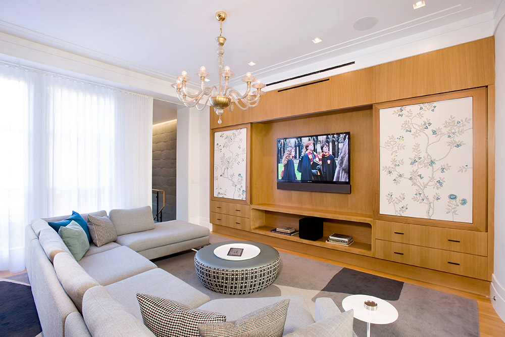 Residential Media Rooms